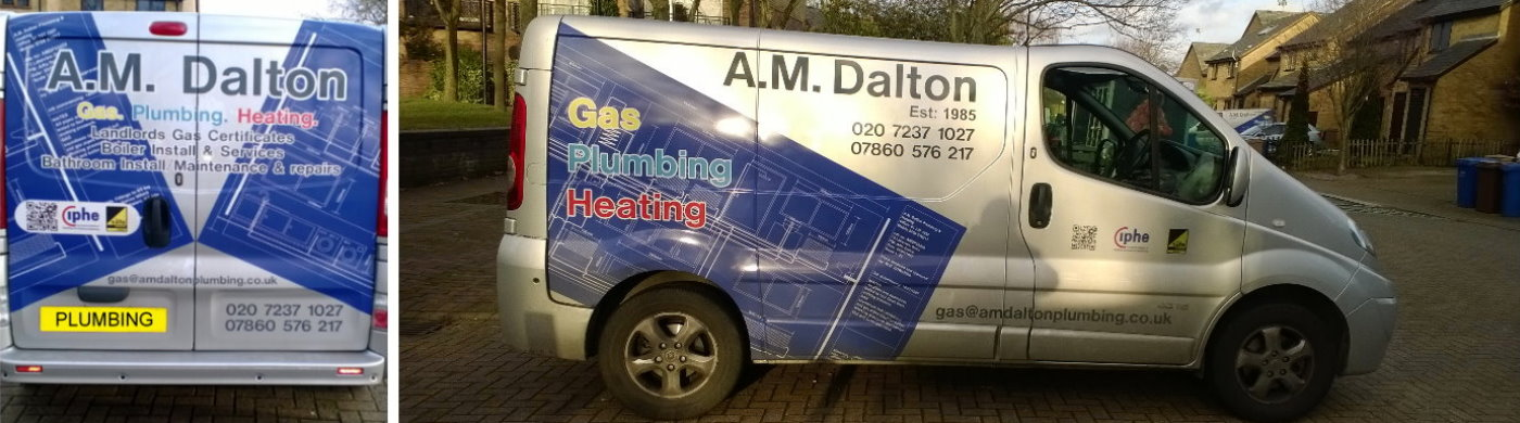 AM Dalton Plumbing Contact Page Image